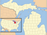 Utica Michigan Map 1955 In Michigan Wikipedia