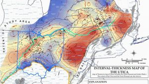 Utica Shale Map Ohio the Daily Digger Study Says Utica Shale May Hold 20 Times More