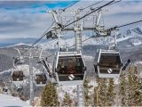 Vail Colorado Ski Map Gondola Ride Mid Way Up Vail Mountain Picture Of Vail Mountain