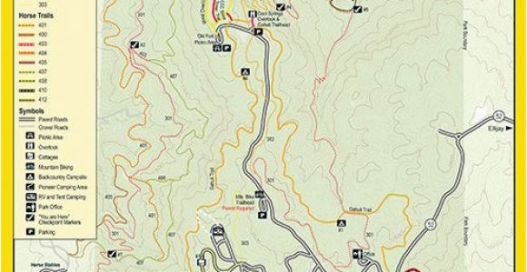 Valdosta Georgia Map Trails at fort Mountain Georgia State Parks Georgia On My Mind