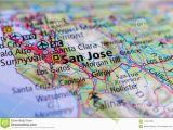 Valley Center California Map San Jose California On Map Stock Photo Image Of Center Airport