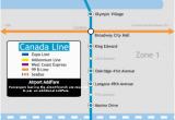 Vancouver Skytrain Canada Line Map Canada Line Wikivisually