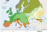 Vegetation Map Of Europe 106 Best Europe Images In 2018 Europe Maps Historical Maps