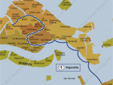 Venice Italy Airport Map Transport Vaporetto Waterbus Bus Lines Maps Venice Italy