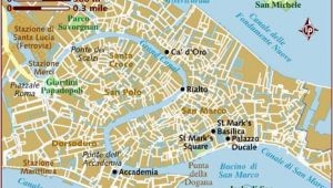 Venice Italy Map Of attractions Map Of Venice