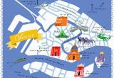 Venice Italy Map Of City Diy Home Projects Maps Venice Map Venice Life Map