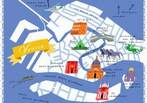 Venice Italy On A Map Diy Home Projects Maps Venice Map Venice Life Map