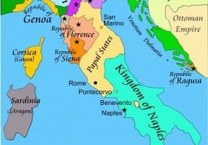 Venice Italy On A Map Italian War Of 1494 1498 Wikipedia