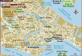 Venice Italy Street Map Map Of Venice