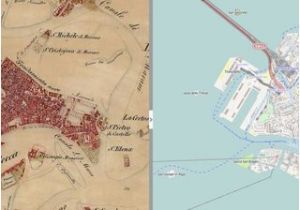 Venice Italy Street Map Second Military Survey and Open Street Map Of Venice Italy with 50
