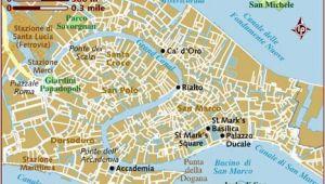 Venice Italy World Map Map Of Venice