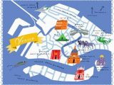 Venice On Map Of Italy Diy Home Projects Maps Venice Map Venice Life Map