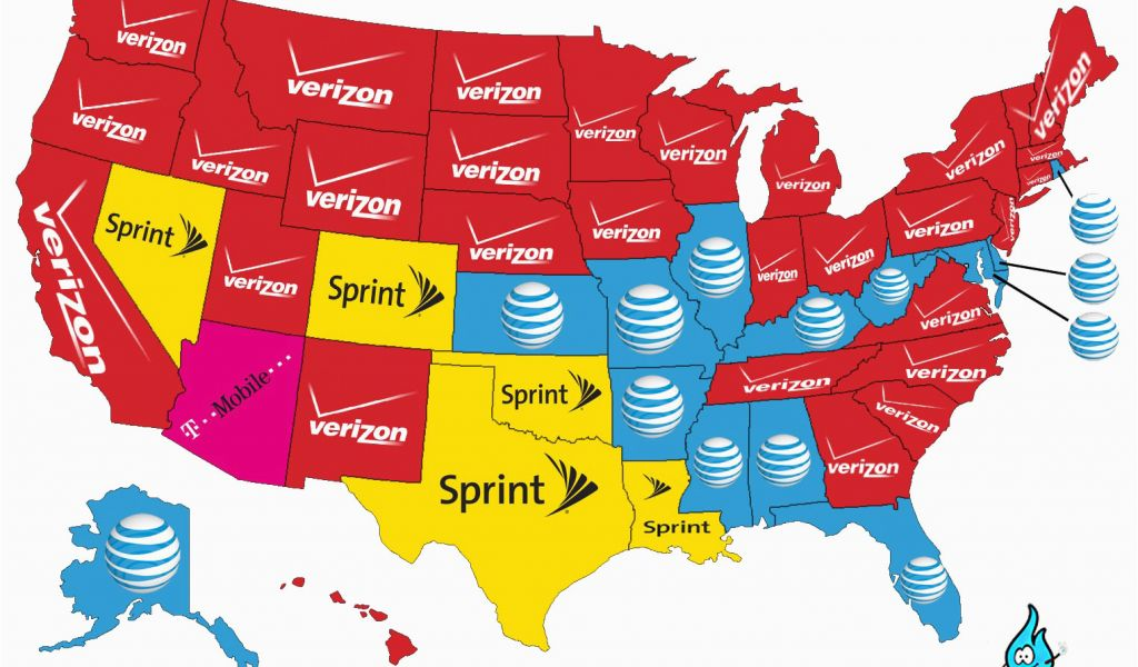 Verizon Coverage Map Colorado 34 Verizon Cell Phone Coverage Map ...