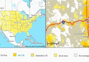 Verizon Michigan Coverage Map Verizon Signal Map Lovely Us - Coverage-map-for-us-cellular