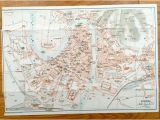 Verona Italy Map Google Antique 1937 Map Of Verona Italy From Muirhead S Blue Guides