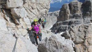 Via Ferrata Italy Map Via Delle Bocchette 3 Day Epic Via Ferrata Adventure In Dolomites