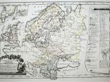 Vienna In Europe Map File Map Of northern and Eastern Europe In 1791 by Reilly
