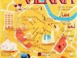 Vienna In Europe Map Patrick O Leary Vienna Austria Vienna Vienna Map