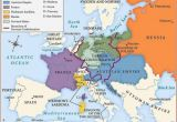Vienna On A Map Of Europe Betweenthewoodsandthewater Map Of Europe after the Congress