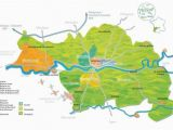 Vineyards In France Map Wine Map Of Bergerac Region Picture Of Bergerac Wine tours