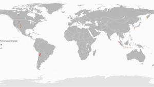 Volcanoes In Italy Map Supervolcano Wikipedia