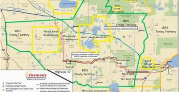 Walker Minnesota Map Sandpiper Dead Enbridge Continues Line 3 Pipeline Project Across