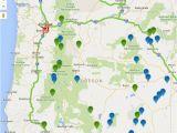 Warm Springs oregon Map oregon Hot Springs Map oregon Discovery