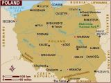 Warsaw Map Europe Map Of Poland