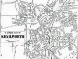Warwick England Map Map Of Kenilworth Warwickshire England Genealogy Coventry