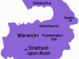 Warwick England Map Warwickshire Travel Guide at Wikivoyage