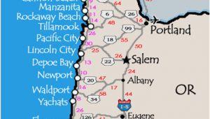 Washington and oregon Coast Map oregon Washington Coast Map Secretmuseum