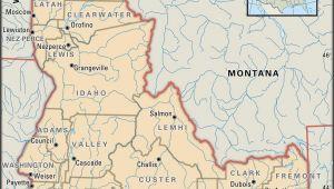 Washington County oregon Maps State and County Maps Of Idaho