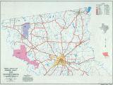 Washington County Texas Map Texas County Highway Maps Browse Perry Castaa Eda Map Collection