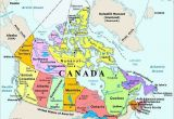 Water Bodies Map Of Canada Map Of Canada with Capital Cities and Bodies Of Water thats Easy to