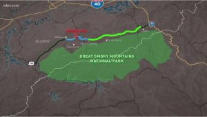 Wears Valley Tennessee Map Foothills Parkway Missing Link Connected Wbir Com