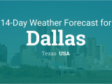 Weather Map Dallas Texas Dallas Texas Usa 14 Day Weather forecast