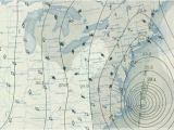 Weather Map for New England Weather Map From the 1938 New England Hurricane Graphic Map