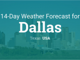 Weather Map Of Texas today Dallas Texas Usa 14 Day Weather forecast