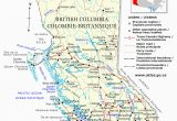 Western Canada Map with Cities Guide to Canadian Provinces and Territories