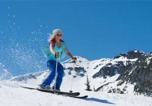 Western Canada Ski Resorts Map A Guide to Spring Skiing In Canada
