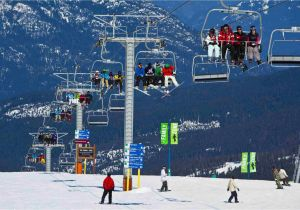 Western Canada Ski Resorts Map Skiing and Snowboarding Near Vancouver