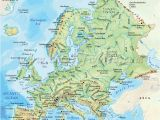Western Europe Physical Features Map Map Of Europe and Russia Physical Download them and Print