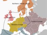 Western Europe Region Map atlas Of Europe Wikimedia Commons