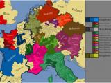 Western Europe Region Map Western Europe 1152 Ad Maps Map Europe Antique Maps
