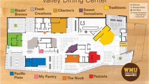 Western Michigan Campus Map Valley Dining Center Dining Services Western Michigan University