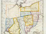 Western Ohio Map John Melish Map Of Ohio Ohio History Genealogy Pinterest