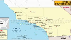 Where is Anaheim California On the Map Map Of southern California Cities California Maps California Map