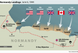 Where is Caen In France On A Map D Day normandy Landings Map Wwii Europe 1944 D Day normandy