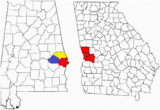 Where is Columbus Georgia On A Map Columbus Georgia Wikipedia