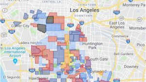 Where is Compton California On A Map Gangs Of Los Angeles 2019 Google My Maps